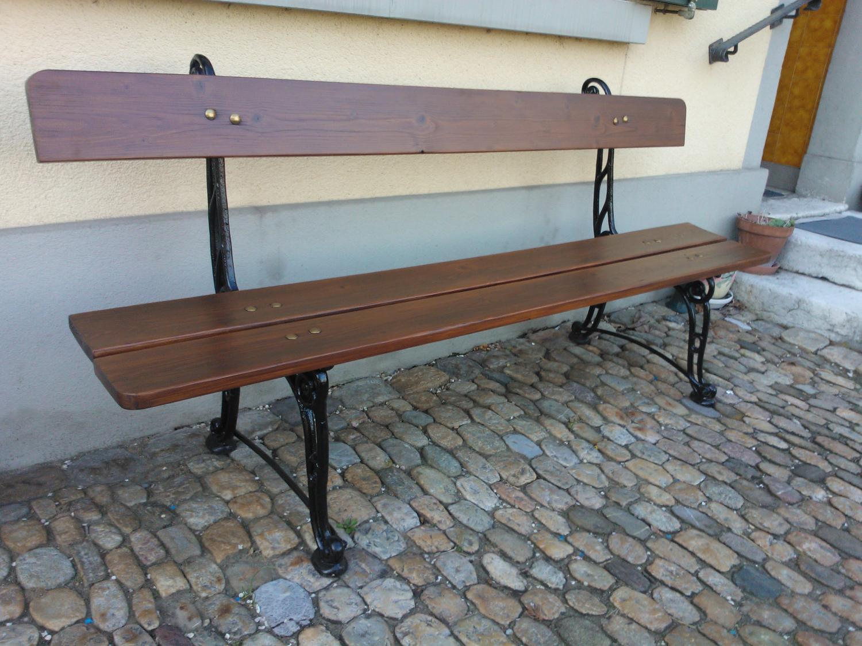 alte Restaurierte Gartenbänke & Tische